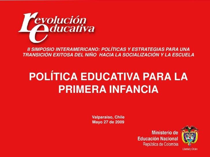 Ministerio de Educación Nacional                                                 República de Colombia       II SIMPOSIO I...