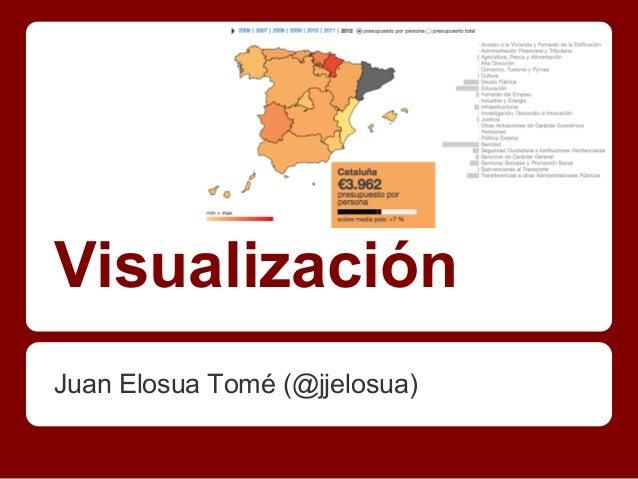 """Curso de Verano """"Datos y Gobierno Abierto"""" Juan Elosua"""