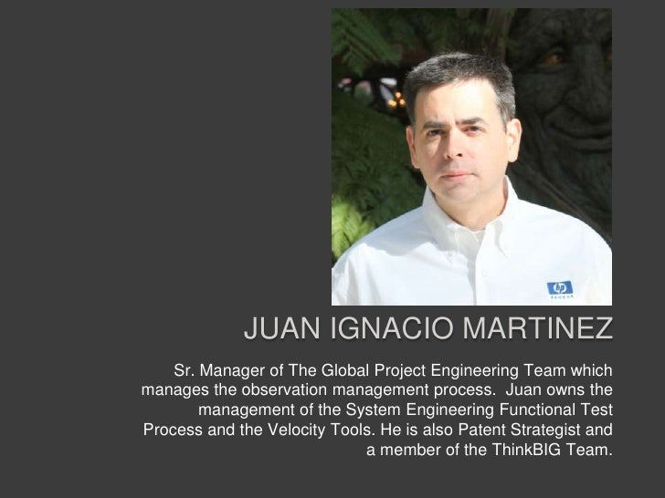 Juan Ignacio Martinez<br />Sr. Manager of The Global Project Engineering Team which manages the observation management pro...