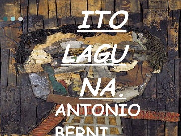 JUANITO LAGUNA. ANTONIO BERNI