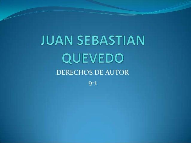 Juan sebastian quevedo