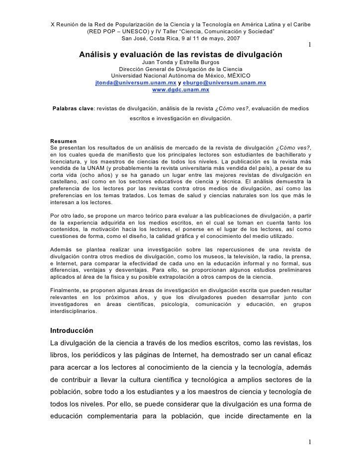 Juan Tonda  DC y Medios Escritos