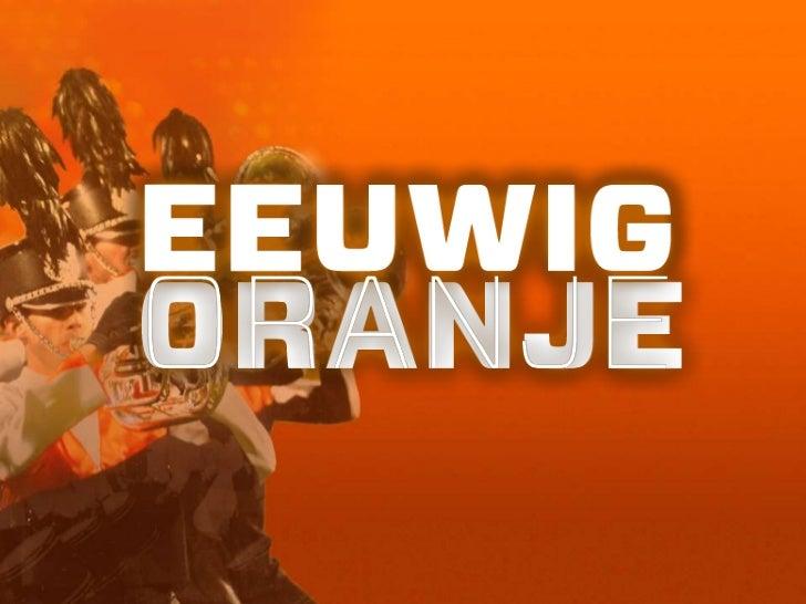 Jubal•presentatie eeuwig oranje