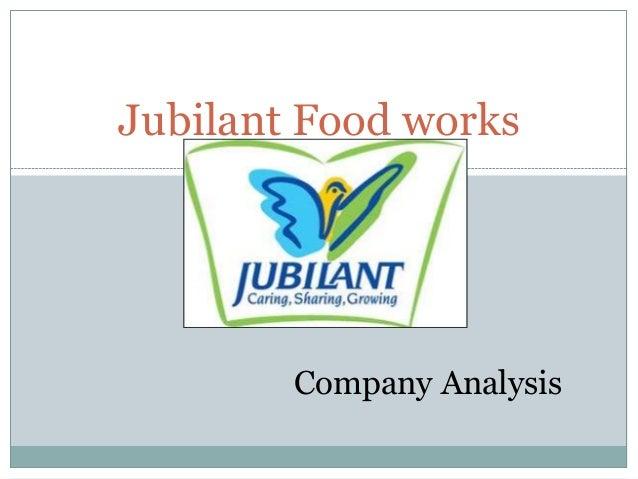 Jubilant Food works  Company Analysis