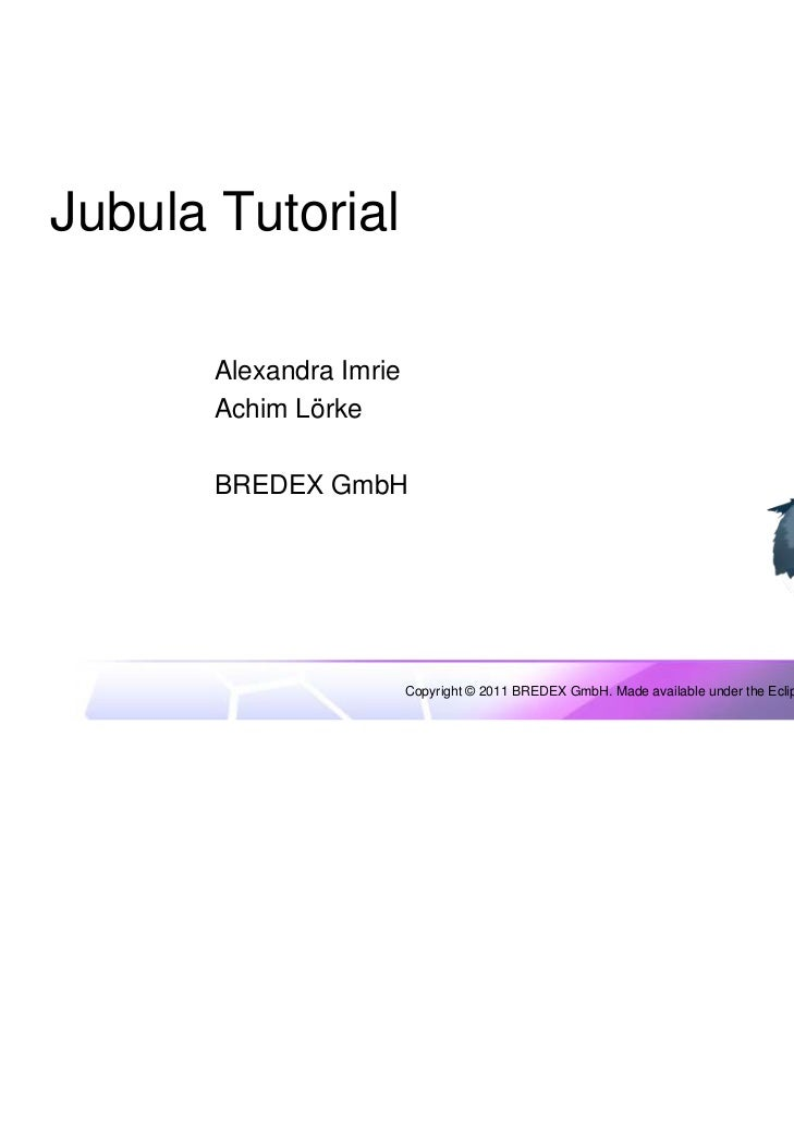Jubula tutorial slides