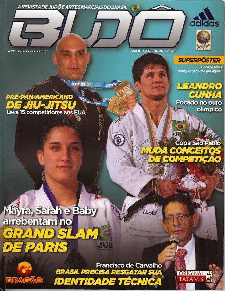 Judô do Sesi-SP na Revista Budô