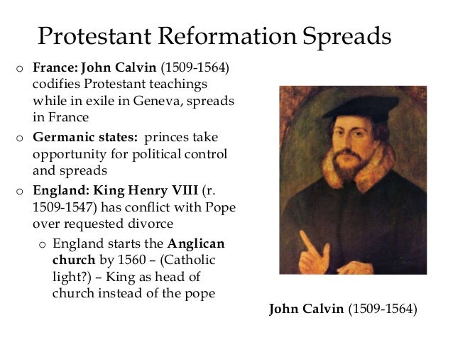 "john calvin thesis In his essay on ""calvin and civil government"" john mcneill remarks that, ' calvin's awe-stricken consciousness of god carries with it no indifference to  mundane."