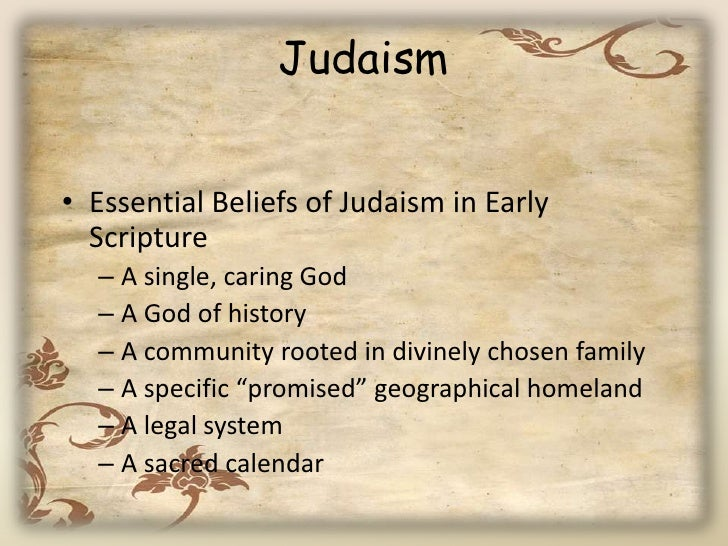 facts on judaism essay