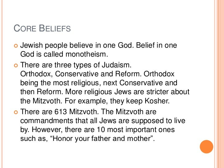 jewish belief in god Why jews don't believe in jesus, why jews reject jesus,why the jews don't believe in jesus torah reading: passover (seventh if god is going to start a religion.