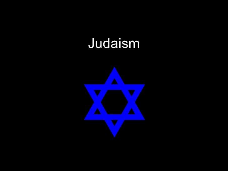 Judaism Part I