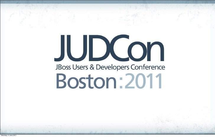 JUDCon 2011 - Box Grinder