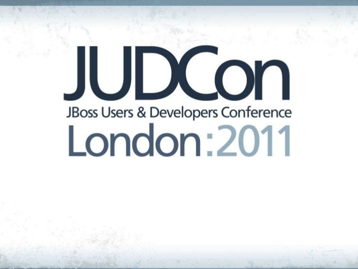 JUDCon London 2011 - Elastic SOA on the Cloud, Steve Millidge