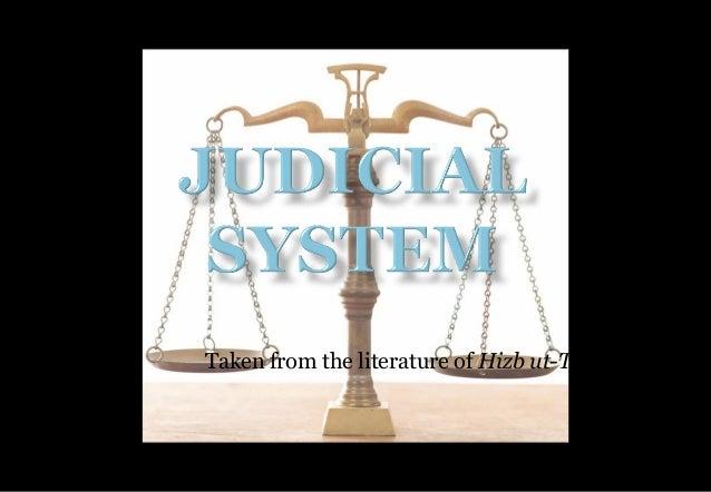 Islamic Judicial system Vs Capitalist Judicial System