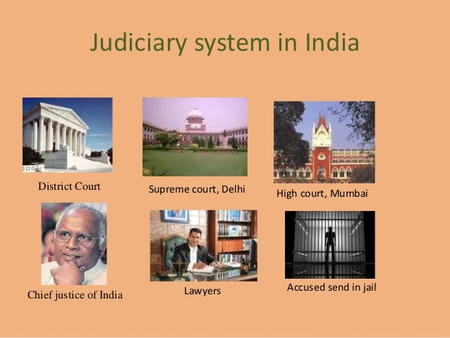 Judiciary system in India  District Court         Supreme court, Delhi   High court, Mumbai                               ...