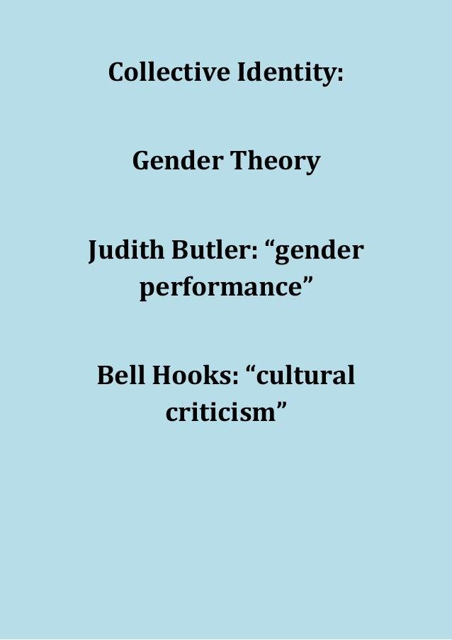 Judith Butler and Bell Hooks