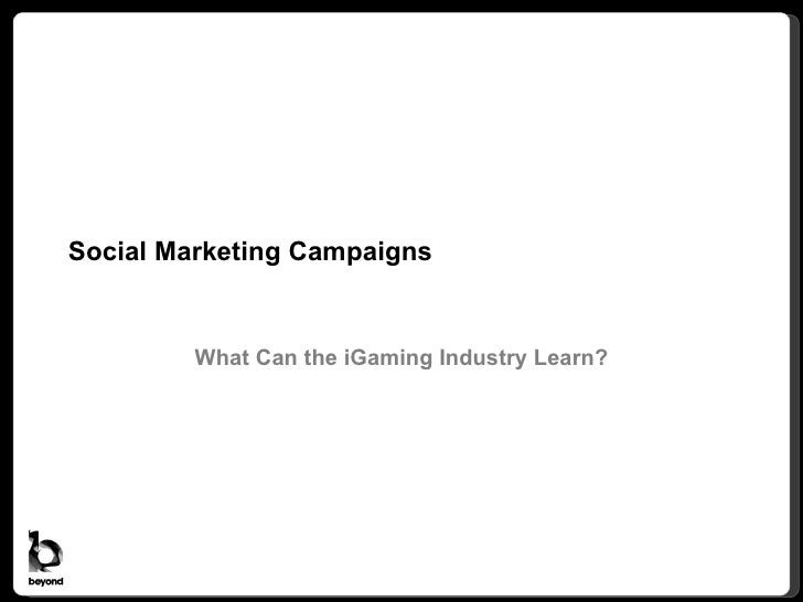 Social Marketing Campaigns: What Can the iGaming Industry Learn?