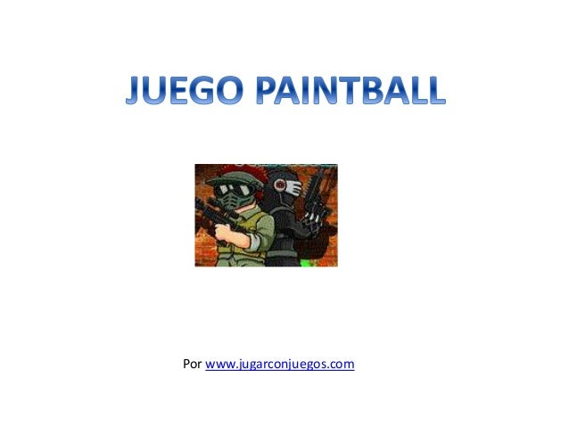 Juego PaintBall