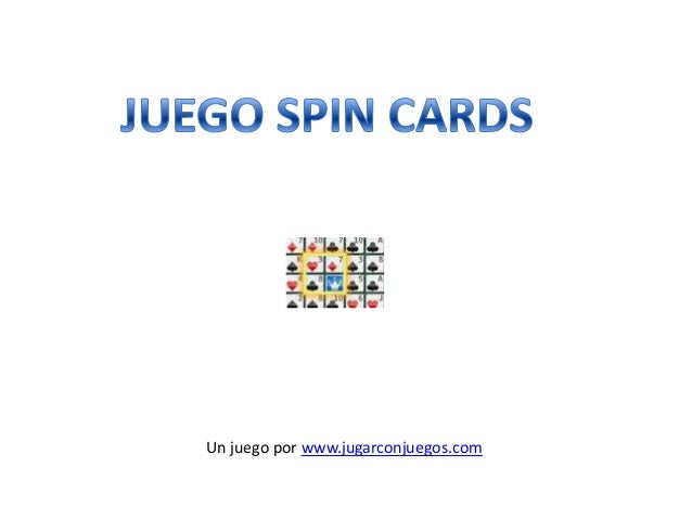 Juego Spin Cards