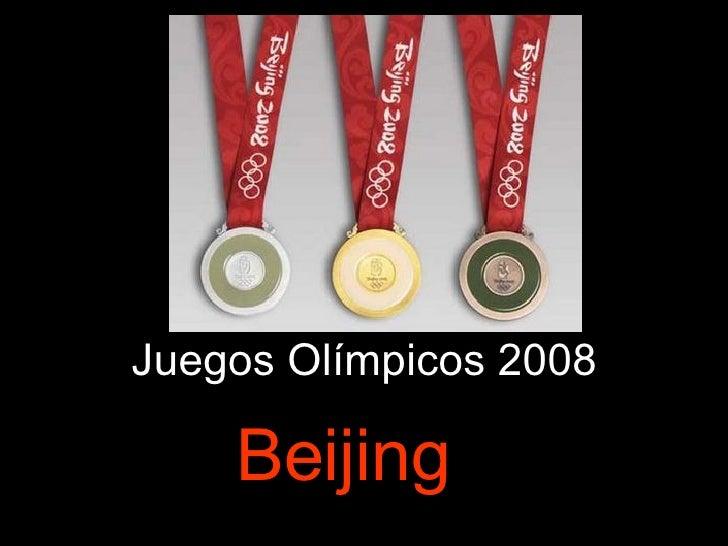 Juegos Olímpicos 2008 Beijing