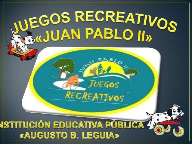 """Proyecto """"Juegos recreativos"""" 5A_primaria"""
