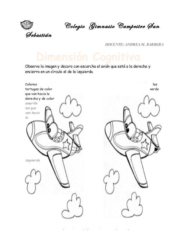 Colegio Gimnasio Campestre San Sebastián DOCENTE: ANDREA M. BARRERA Observo la imagen y decoro con escarcha el avión que e...