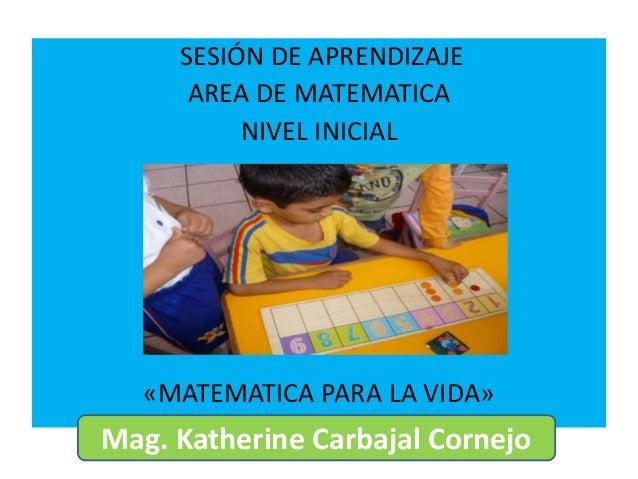SESION DE MATEMATICA CON RUTAS DE APRENDIZAJE