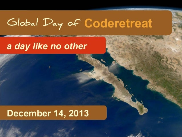 Coderetreat a day like no other  Hidden Slide Slower  December 14, 2013
