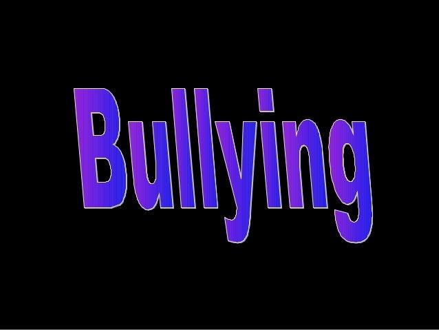 O bullying é praticado por mais de 80% das escola em todo o mundo....