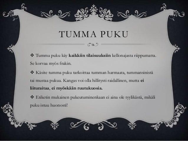 tumma puku liivi Tampere
