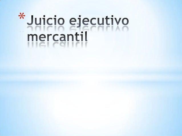 juicio ejecutivo: