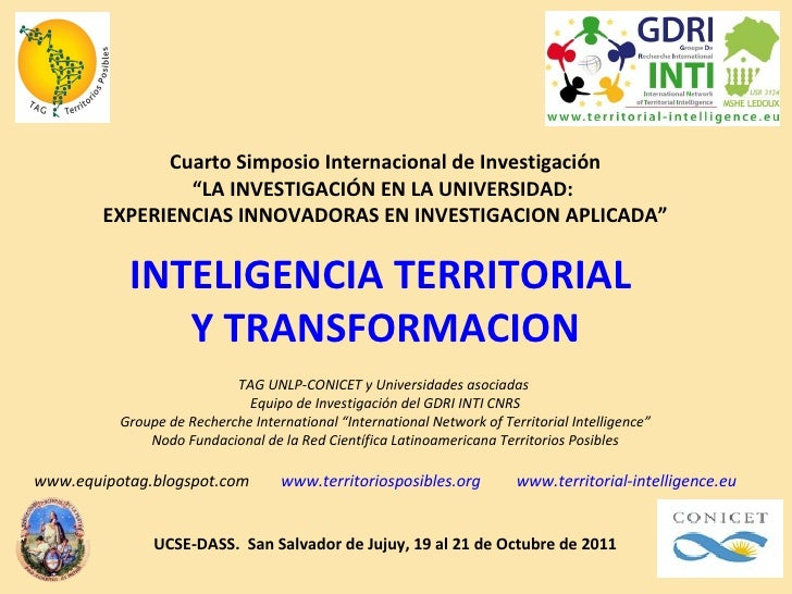 """Cuarto Simposio Internacional de Investigación """" LA INVESTIGACIÓN EN LA UNIVERSIDAD:  EXPERIENCIAS INNOVADORAS EN INVESTIG..."""