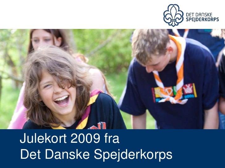 Julekort Dds 2009