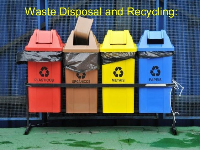 Waste Disposal and Recycling: