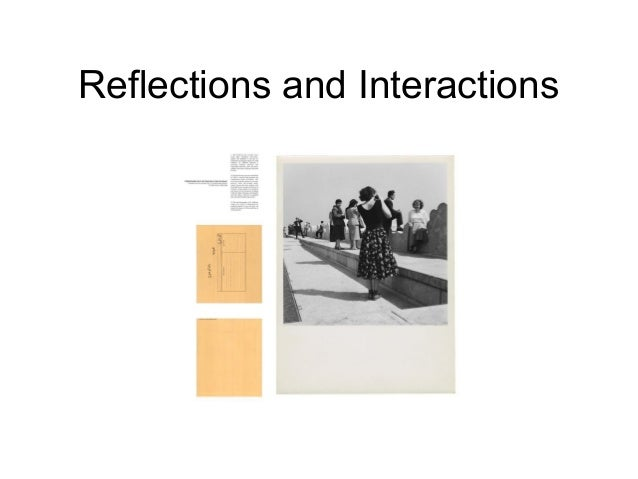 Julia Carver and Tom Trevor: Reflections and Interactions