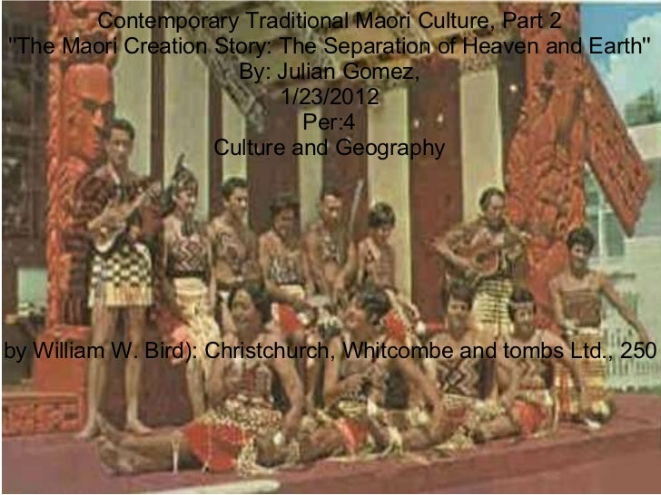 Contemporary traditional Moari Culture, part 2