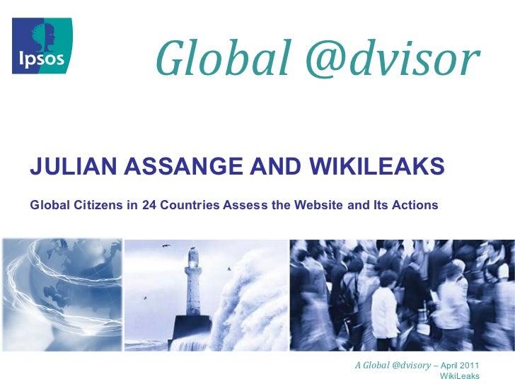 Julian assange and wiki leaks