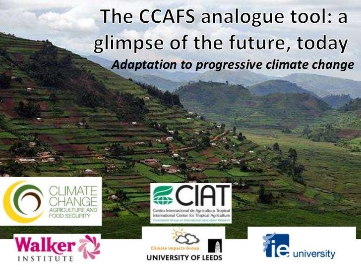 Julian R - The CCAFS analogues tool (crop-smart breeding workshop, Addis Ababa, Ethiopia)