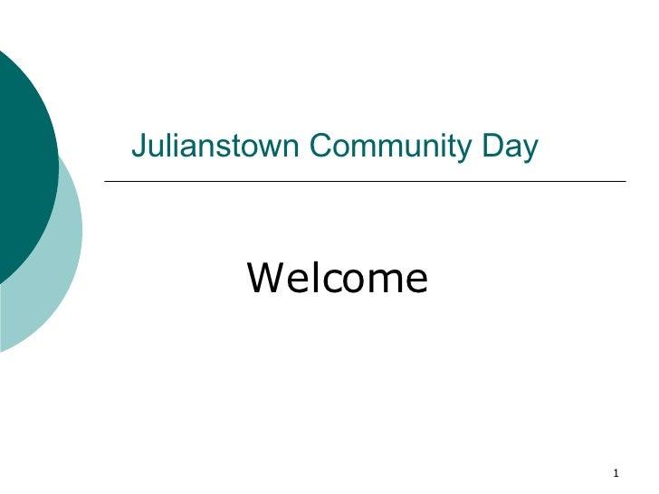 Julianstown Presentation