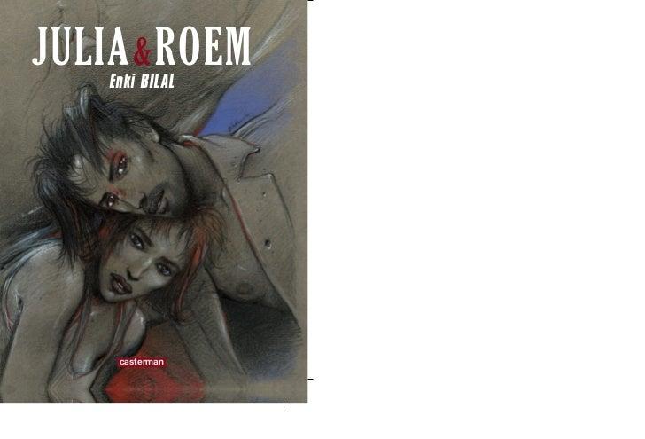 JULIA & ROEM    Enki BILAL     casterman