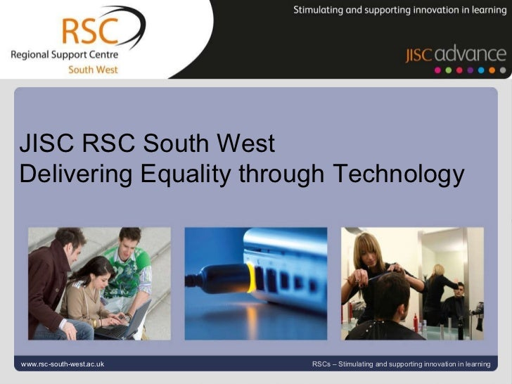Go to View > Header & Footer to edit May 25, 2011   |  slide  www.rsc-south-west.ac.uk RSCs – Stimulating and supporting i...