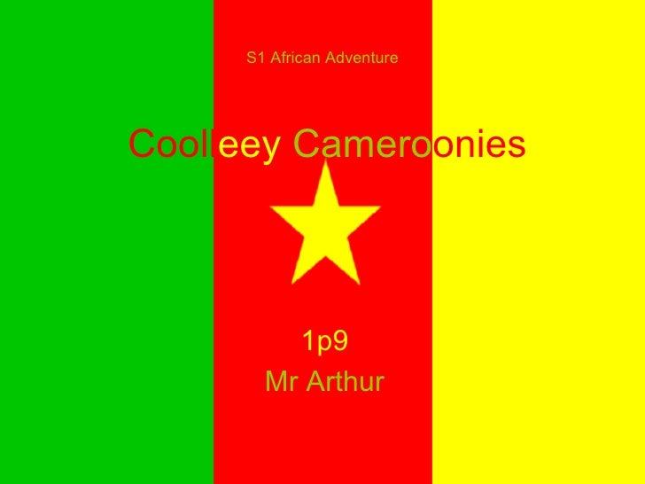 Cooll eey   Camero onies 1p9 Mr Arthur S1 African Adventure