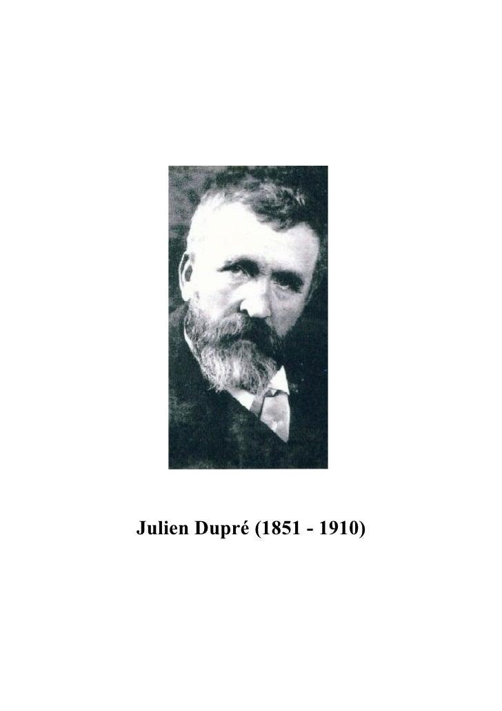 Julien dupré