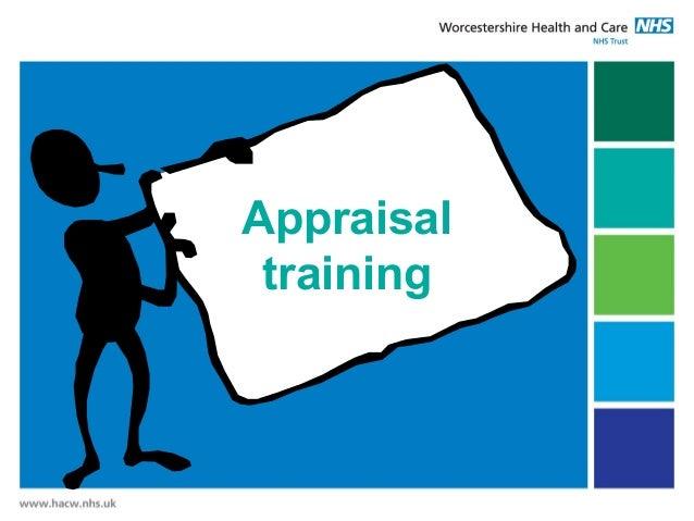 Appraisal training