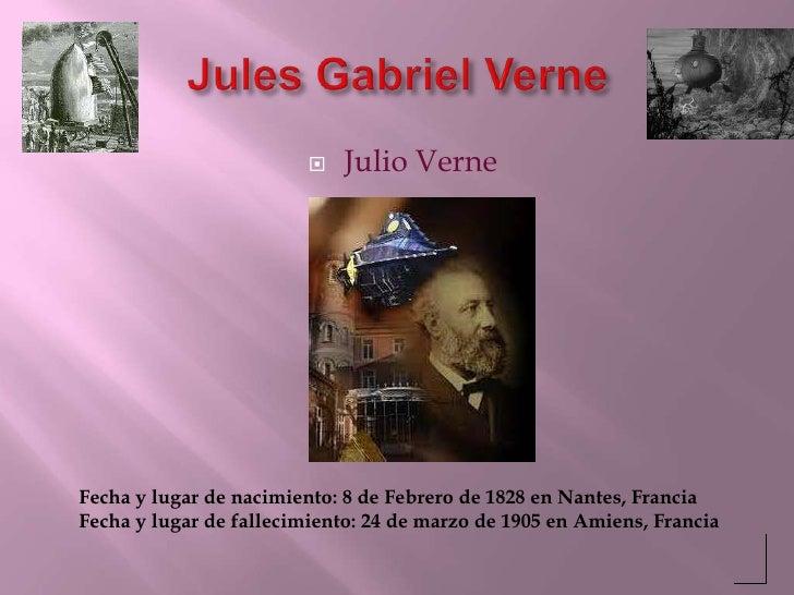 Jules Gabriel Verne<br />Julio Verne<br />