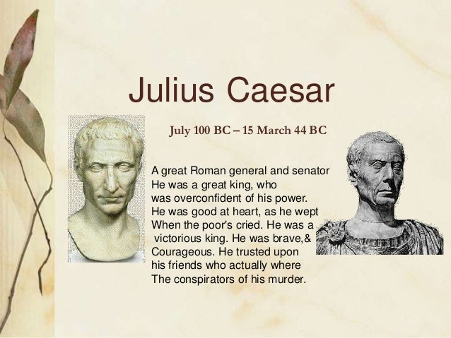 play julius caesar essays