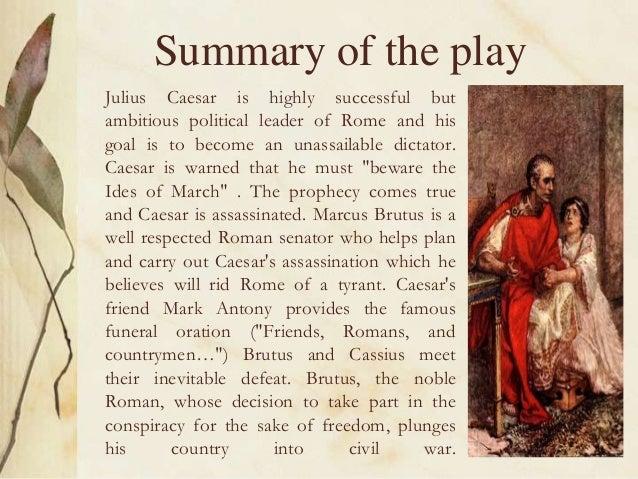 Summary of any story of william shakespeare