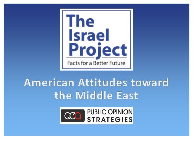 2 Methodology On behalf of The Israel Project, Public Opinion Strategies conducted a national survey of N=800 likely voter...