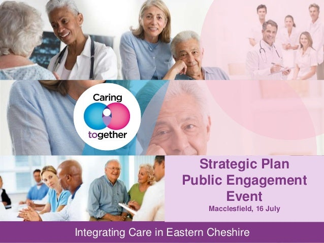 WORKING DRAFT Last Modified 15/07/2013 12:57 GMT Standard Time Printed Integrating Care in Eastern Cheshire Doc ID Integra...