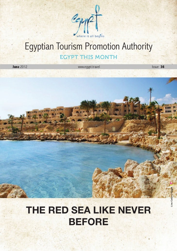 Newsletter of Egypt Tourism July 2012