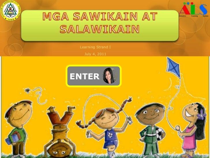 Mga Halimbawa Ng Salawikain